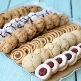 מגש בעוגיות